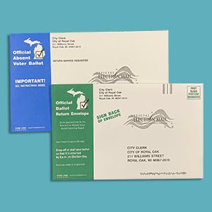 Absentee Ballot Envelope Picture