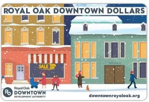 Downtown Dollars Gift Card Picture