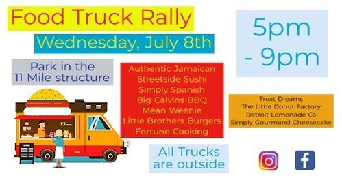 July 8 Food Truck Graphic