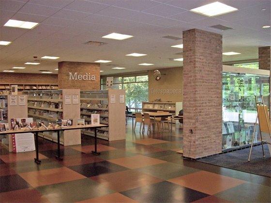Interior of Public Library