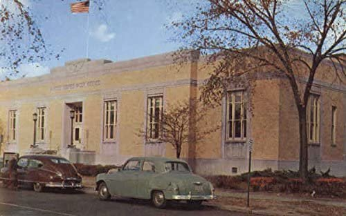 Post Office in the 1950 Picture
