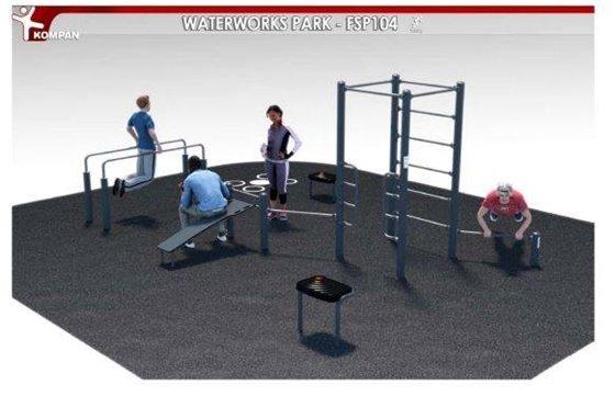Waterworks Park Fitness Equipment