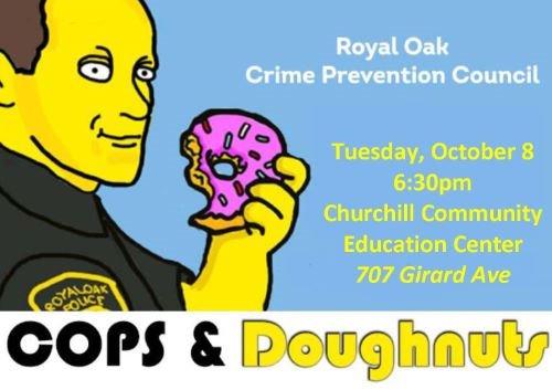 Cops and Doughnuts Logo