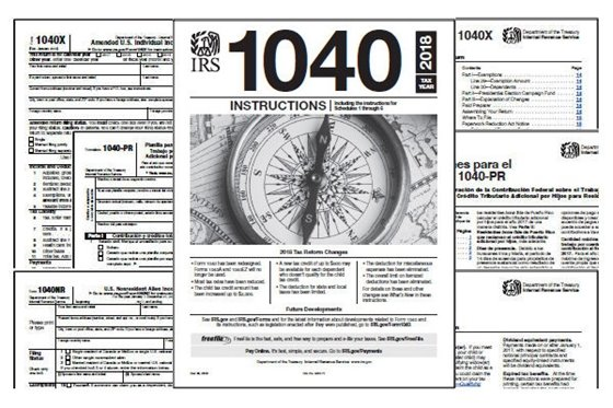 Tax Forms Picture