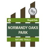 Normandy Oaks Park Sign