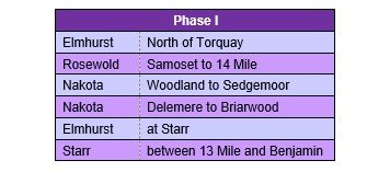 phase 1 streets