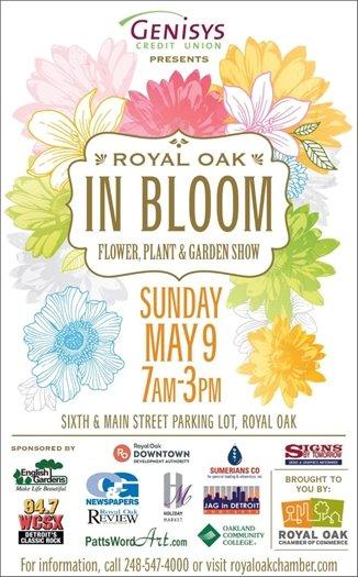 Royal Oak in Bloom Flyer