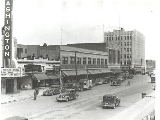 Washington Street Circa 1940 Picture