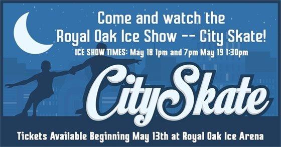 Ice Show Flyer