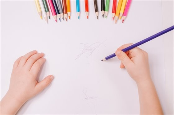 Child Drawing Picture