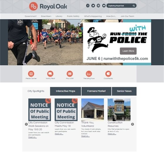 Website Front Page Picture