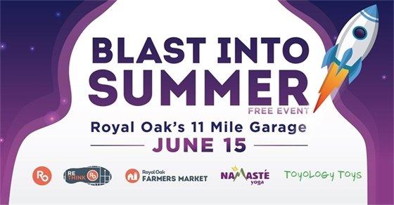 Blast Into Summer Logo
