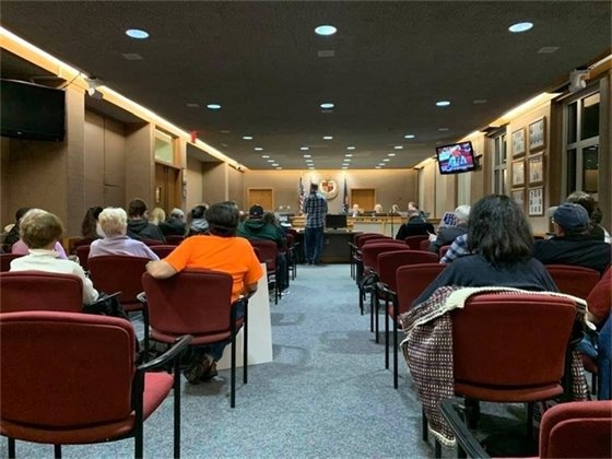 City Commission Meeting Picture