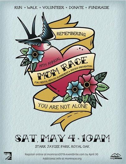 MOM Run Poster