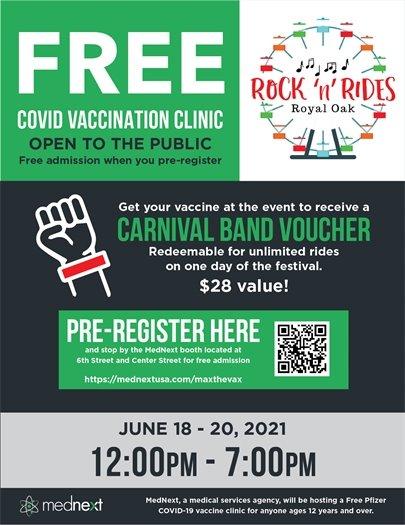COVID19 Vaccine Clinic at RnR