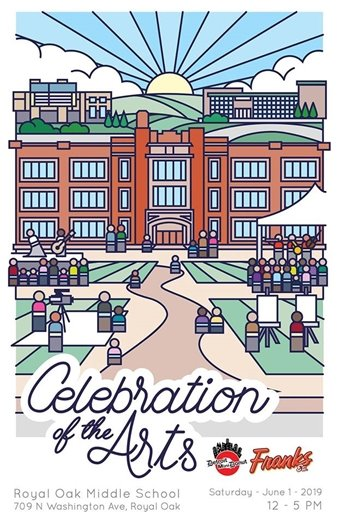 Celebration of the Arts Poster