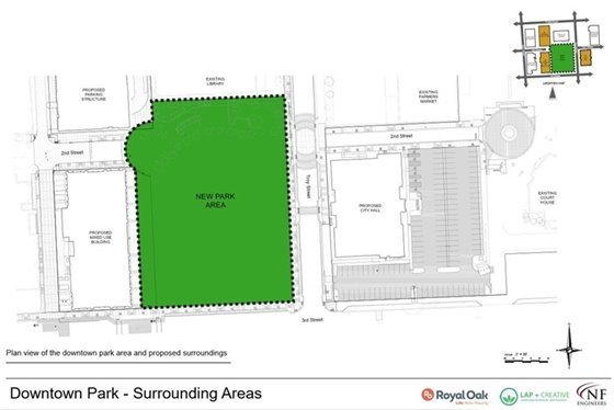 Park area drawing