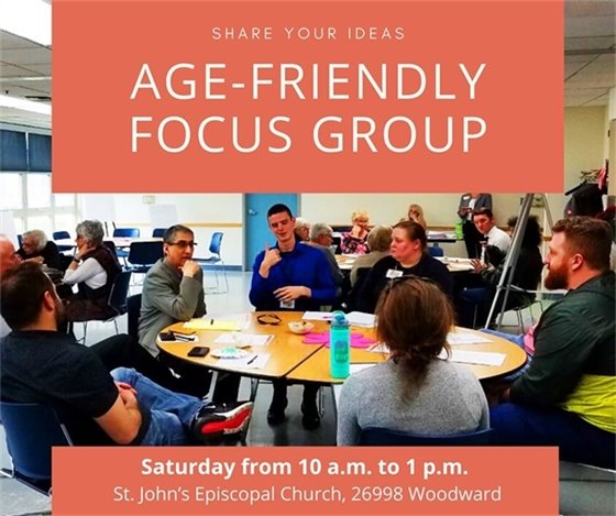 Age Friendly Focus Group Banner
