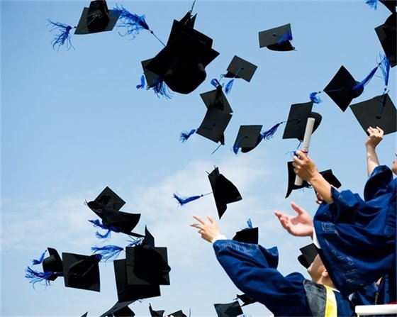 Graduates Celebrating Picture