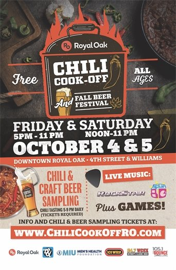 chili cook off and fall beer festival