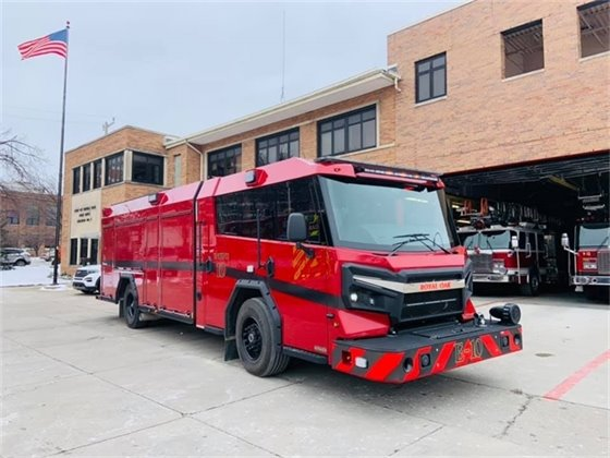 New Fire Truck Picture