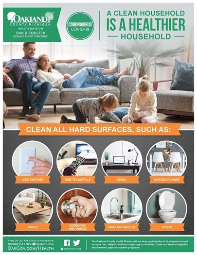Household Cleaning Flyer