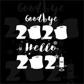 GB 2020 Hello 2021 Graphic