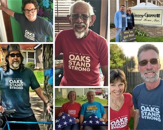 Royal Oakers in Oaks Stand Strong T Shirts Picture