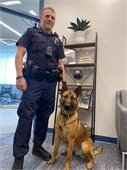 Thorvi and Officer Nadrowski Picture
