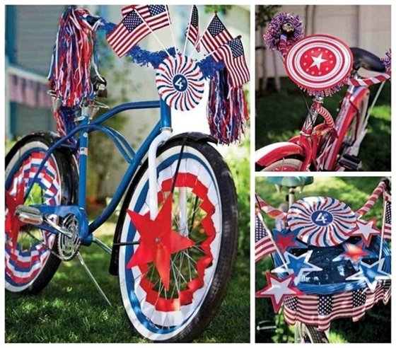 Decorated bike pictures