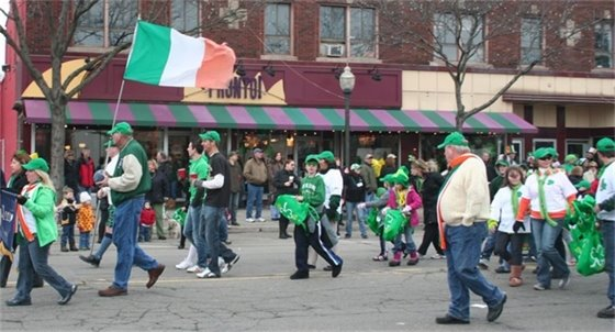 St Pat's Day parade