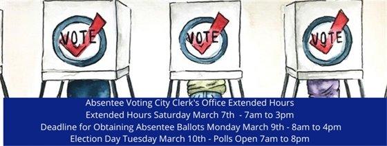 Voting Information Banner