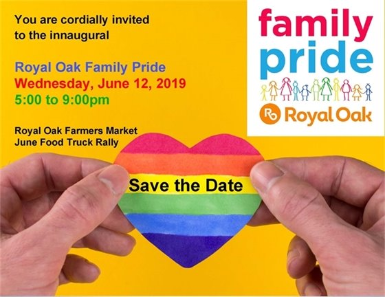 Family Pride Save the Date Flyer