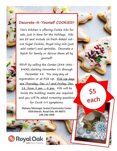 Cookie Kit Flyer