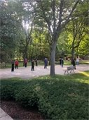 Outdoor Exercise Class Picture 1