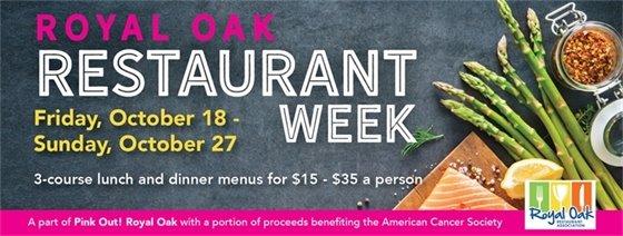 Restaurant Week Banner