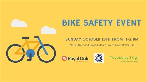 Bike Safety Event Flyer