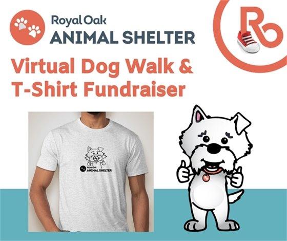 Romi T Shirt and Virtual Walk Logo