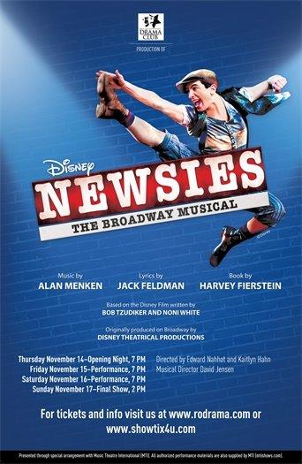 Newsies Flyer