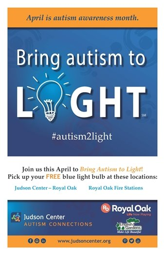 Bring Autism to Light Poster