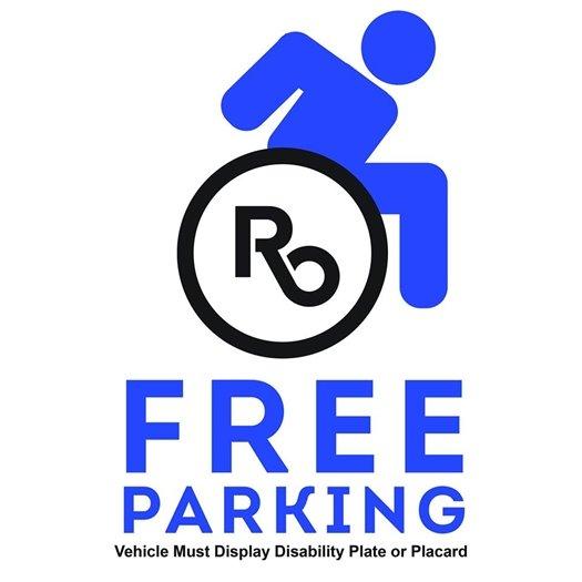 Free ADA Parking Logo