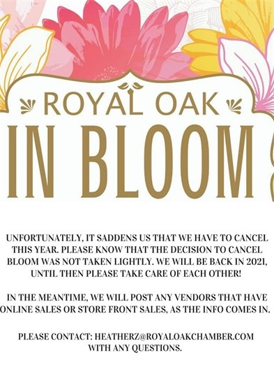 RO in Bloom Flyer