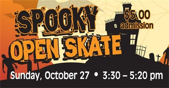 Spooky Skate Banner