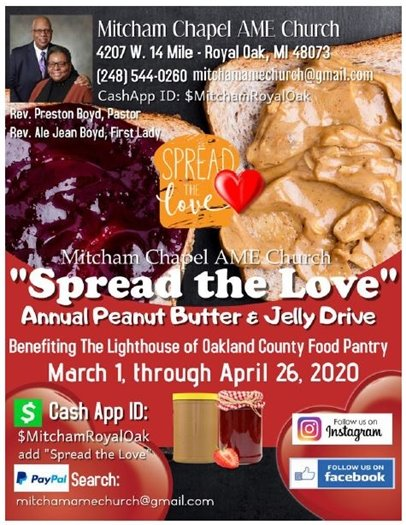 Spread the Love Flyer