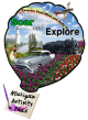 Michigan Activity Pass Logo, reading, &#34Soar and Explore.&#34