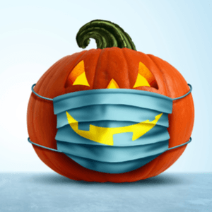 Pumpkin with Mask