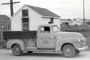 1954 photo of Well House No. 1 located at 4715 Cooper.