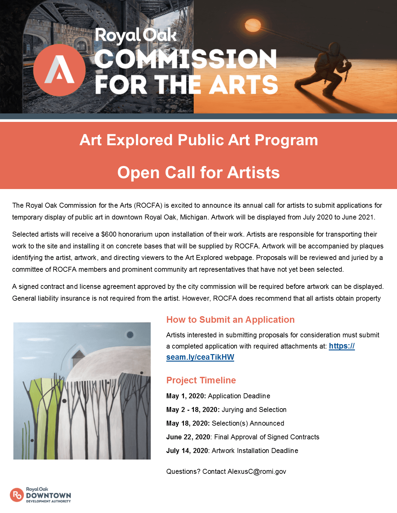 2020-2021 Art Explored Calling all artists Opens in new window