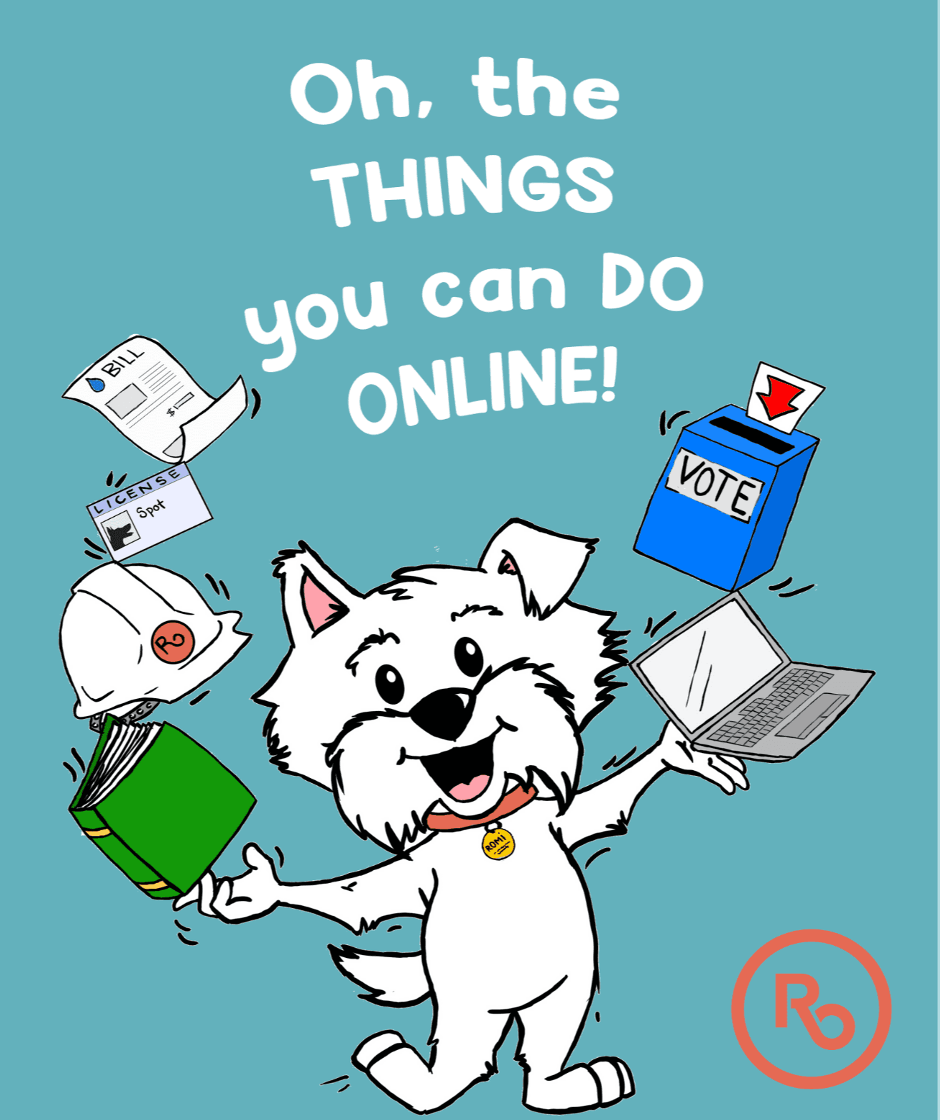 Oh the things you can do online -- graphic